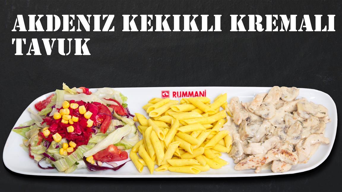 Akdeniz Kekikli Kremalı Tavuk